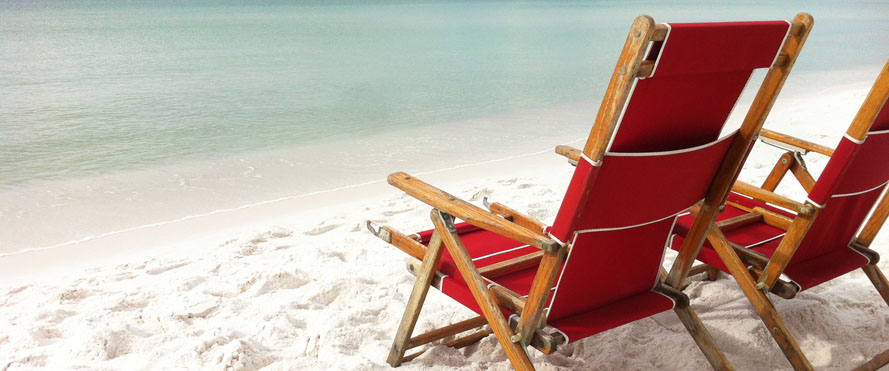 LAH is now at the beach!