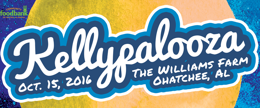 Kellypalooza will benefit Community Food Bank of Central Alabama