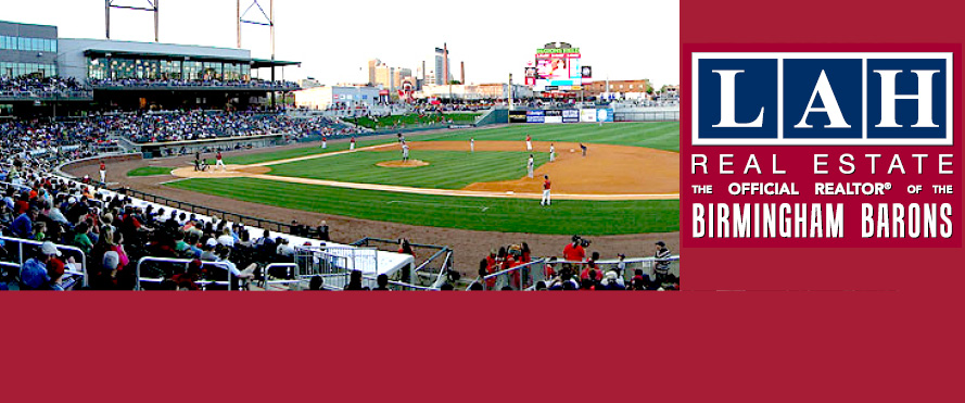 LAH is the OFFICIAL REALTOR® OF THE BIRMINGHAM BARONS!
