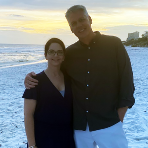 Kimberly Stanley and her husband Chris are active in their 30A community and are both real estate agents at LAH.