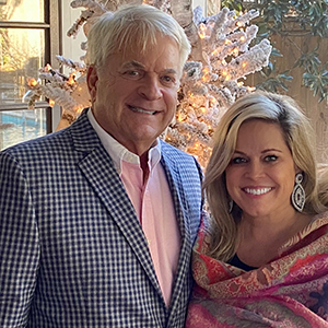 Roy Hockman, an agent with LAH Commercial Real Estate, pictured with his wife, Paige.