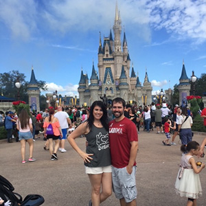 Heather Young enjoys going to Disney with her fiancé.